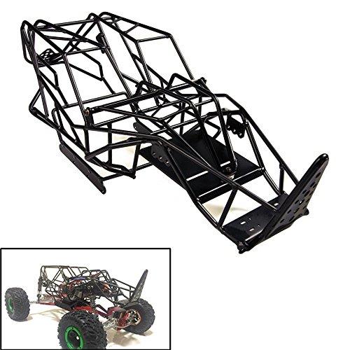 XUNJIAJIE 1 Stück Metall Käfig Chassie Karosserie Rahmen für 1/10 Crawler Modell Auto Axial Wraith 90018