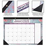 STOBOK Monthly Desk Pad Calendar 2020-2022 Wall Hanging Calendar Monthly Weekly Daily Planner Desk Calendars for Office Home / 2 Year