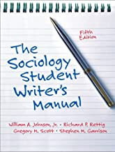 Sociology Student Writer's Manual, The (5th Edition)