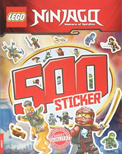 LEGO Ninjago: 500 Sticker - Band 2 (Rätsel-Stickerbuch)