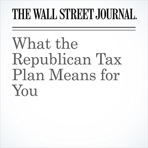 What the Republican Tax Plan Means for You copertina