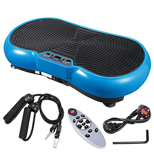ReaseJoy 500W Vibration Plate Crazy Fit Massage Exercise Machine Oscillating Platform