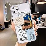 Coque anti-chute pour iPhone 12 X Xr Xs Max 5 5S SE en TPU souple pour iPhone 7 8 6 6S Plus 11 Pro...
