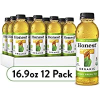 12-Pack Honest Tea Organic Fair Trade Honey Green Gluten Free, 16.9 Fl. Oz