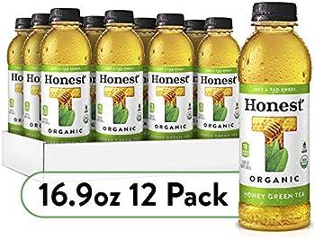 12-Pack Honest Tea Organic Fair Trade Honey Green Gluten Free, 16.9 Fl. Oz