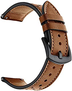 Replacement Bands Compatible For Huawei Watch Gt, Leather Watch Band, Adjustable Wrist Strap, 220Mm (Brown)