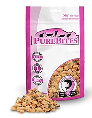 PureBites Freeze-Dried Cat Treats with Salmon .92 oz