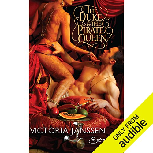 The Duke and the Pirate Queen audiobook cover art