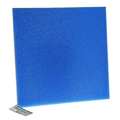 JBL 62565 Mehrweg-Schaumstoff für Aquarienfilter gegen alle Wassertrübungen Filterschaum, blau grob