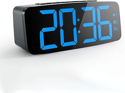 Alarm Clocks Home Decor Faithful Creative Home Decor Desktop Table Clock Silent No Ticking Children Beside Portable Quartz Movement Gifts For Student Alarm Clock