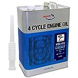 AZ(エーゼット)4サイクル エンジンオイル EG414 MEC-002 10W-40 MA サーキット夏タイプ FULL SYN 4L バイク用