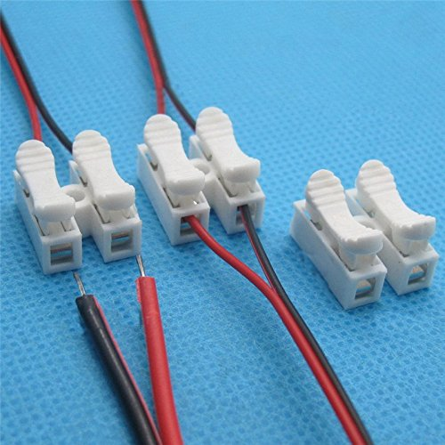 Nextronics Tool-Free Wire Connectors 25 Pieces - Quick Splice Terminal Blocks - No Crimp Tool Needed
