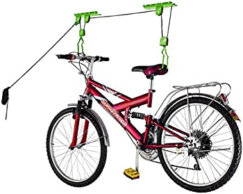 Bike Lane Products Bicycle Hoist Quality Garage Storage Bike Lift