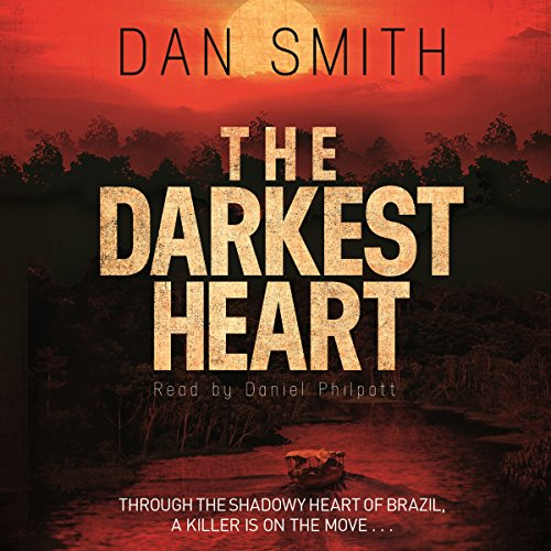 The Darkest Heart audiobook cover art