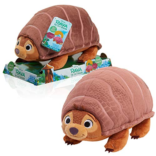 Disney Raya & The Last Dragon Foldn Roll Tuk Tuk Plush, Stuffed Animal Armadillo