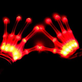 BFYWB Toys for 3-12 Year Old Girls, LED Gloves Finger Lights Fingertips Flashing New Cool Party Favor Hot Christmas Birthday Gifts for 3-10 Year Old Girls