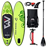 Aquamarina Sup Breeze Stand up, Paddle, Planche, Surf, Board Adulte Unisexe, Vert,...