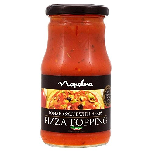 Napolina Tomato Sauce With Herbs Pizza Topping 300G