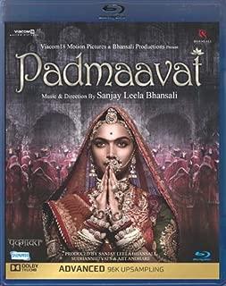 Padmaavat Hindi Blu Ray Bollywood Movie -Sanjay Leela Bhansali Film (Padmaavati)