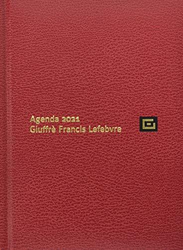Agenda legale d'udienza 2021. Ediz. rossa