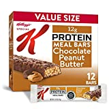 Kellogg's Special K Chocolate Peanut Butter Protein Meal Bars - Office Lunch, Meal Replacement (12...