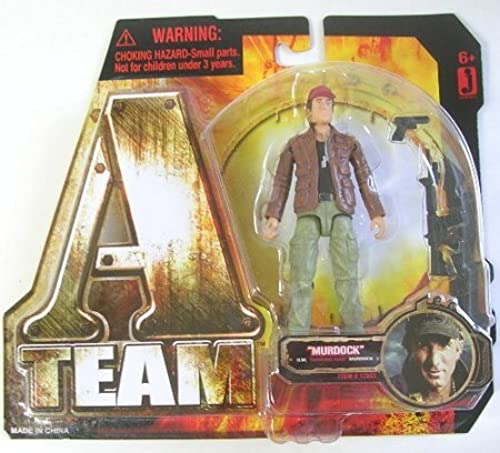 ATeam 2010 Movie 3 3 4 Inch Action Figure Howling Mad Murdock by A-Team