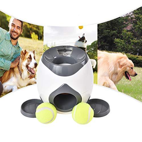 Hund Belohnung Spielzeug, Interaktive Hundespielzeug Automatische Pet Ball Launcher Spielzeug Feeder Pet Puzzle Food Dispenser Pet Interaktive Spielzeug für Hund Indoor Outdoor Spielen