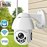 M S TECH Wireless WiFi HD 1080P IP Camera Night Vision Zoom Outdoor