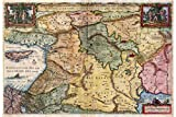 Holy Land Historical Map - Antique Reproduction -...