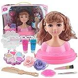 MySixKeen Juego de muñecas para niños DIY, Peine de Maquillaje, Juguete para niñas, peluquería, muñe...