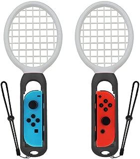 Kasitek スイッチ ゲーム アクセサリ 滑り止めラケット 対応 マリオテニス ラケット マリオテニス エース Switch