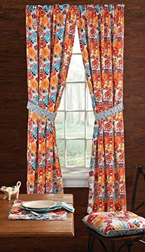 The Pioneer Woman, Flea Market Window Panel Pair,40x84