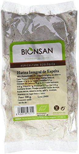 Harina de Trigo Espelta Integral Ecológica   6 Bolsas de 500 gr   Total: 3000 gr