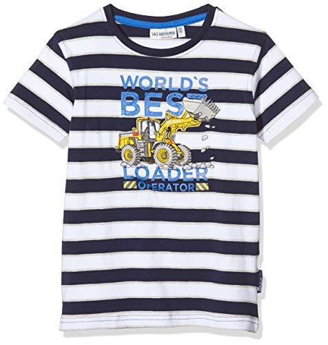 74 80 86 92 NEU Salt and Pepper Jungen T-Shirt Shirt Krabbe Schiff Maritim Gr