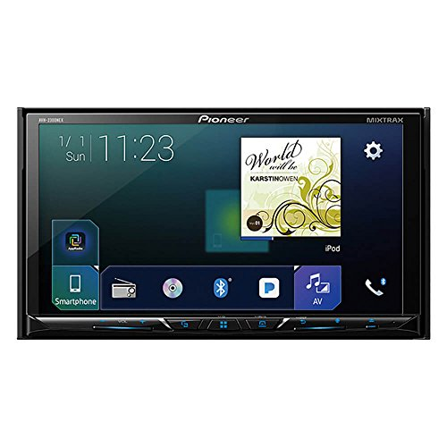 "Pioneer AVH-2300NEX Multimedia DVD Receiver with 7"" WVGA Display, Apple CarPlay, Android Auto, Built-in Bluetooth, SiriusXM-Ready and AppRadio Mode +"