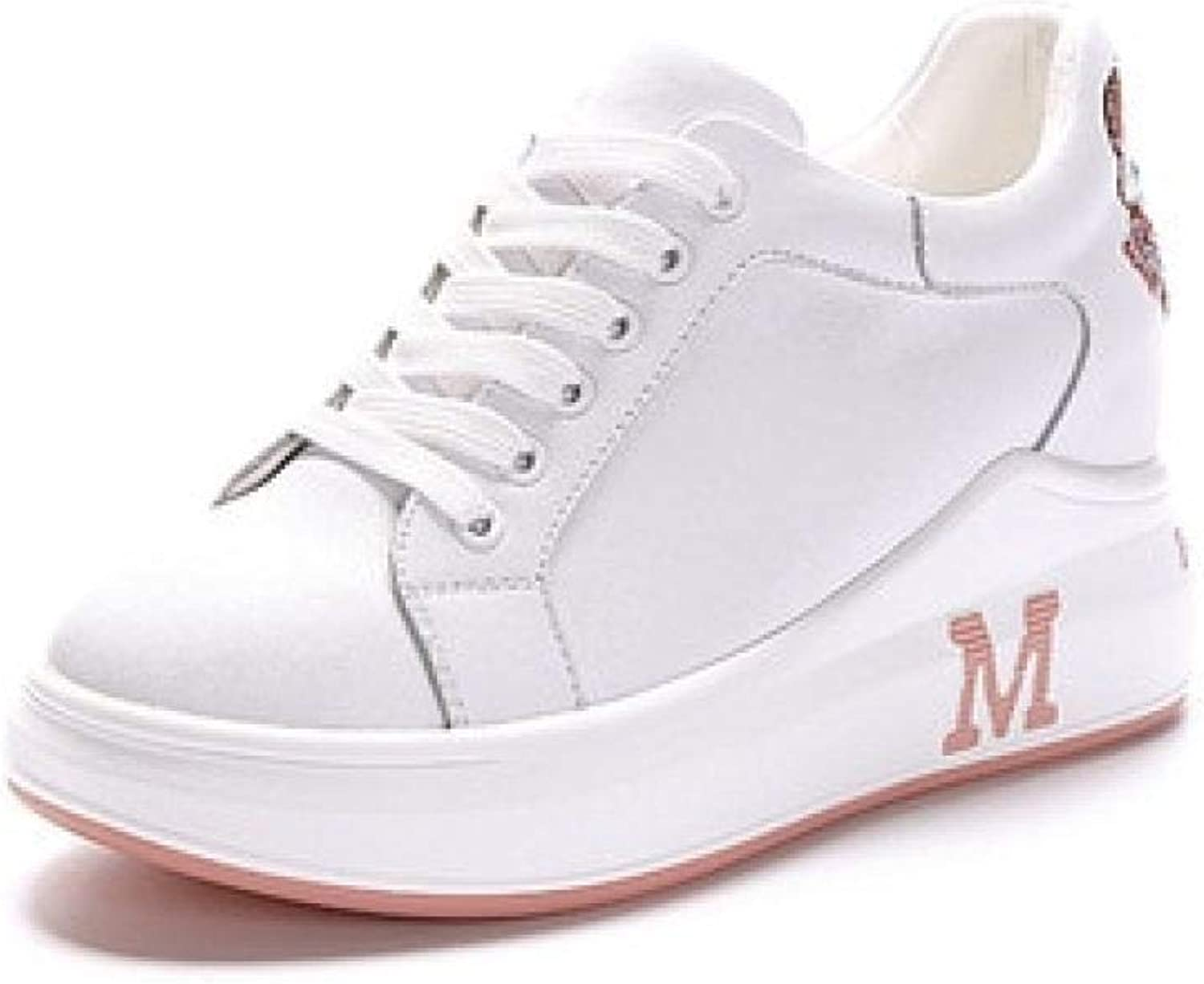 Fashion shoesbox Wedges Sneakers for Womens Girls Increasing Height Cross Strap Leisure Slip Resistant Trendy Trainers shoes