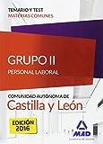 Grupo II Personal Laboral de la Junta de Castilla y León. Temario y test materias comunes