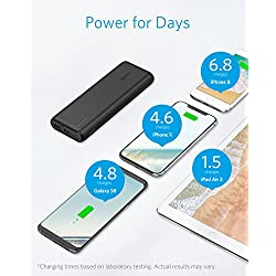 Portable Charger Anker PowerCore 20100mAh – Ultra High...