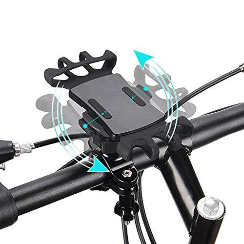 CZX Support De Téléphone De Vélo, Support De Téléphone De Vélo Support De Téléphone De Guidon De Vélo Rotatif à 360 ° pour d'autres Appareils De 4,5\