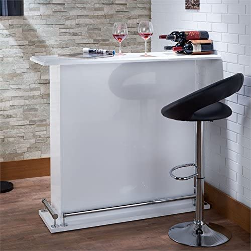 Kansas City lowest price Mall BOWERY HILL Bar Table White in
