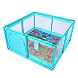 Chicco Open Box Parque de juegos infantil con alfombra extra/íble Honey Bear Gris