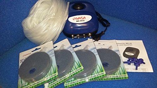 Osaga 10 pièces Kit Compresseur MK de 9510 10 W 600 l l'heure avec 4 Sorties
