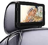 9 inch Car Headrest Portable DVD player Mount holder case Swivel Flip Style UK.