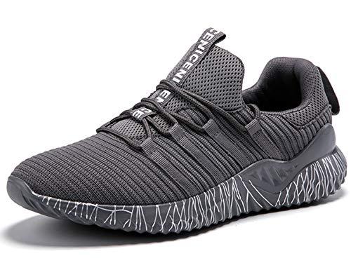 SINOES Zapatos para Correr En Montaña Asfalto Aire Libre Deportes Zapatillas De Running para Hombre