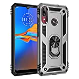 BestST motorola moto E6 plus Case, [Armor box] [Built in