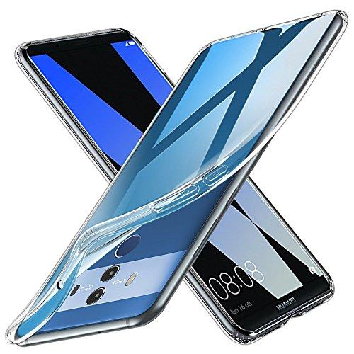TopACE Hülle für Huawei Mate 10 Pro, TPU Hülle Schutzhülle Crystal Hülle Durchsichtig Klar Silikon transparent für Huawei Mate 10 Pro (Transparent)