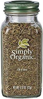Simply Organic Whole Thyme Leaf, Certified Organic | 0.78 oz | Thymus vulgaris L.