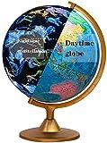 Globo terráqueo con Constelaciones iluminadas - Globo Iluminado de 10 'para niños y Adultos - Globo terráqueo Interactivo para educación en geografía