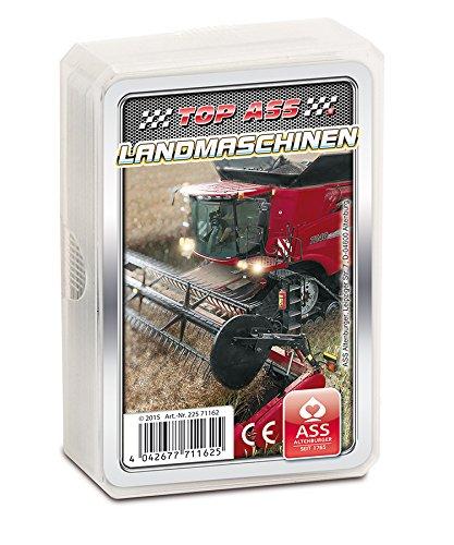 ASS Altenburger Spielkarten Quartett (Landmaschinen 71162)