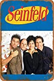 Cimily Seinfeld Kramer Poster Vintage Blechschild
